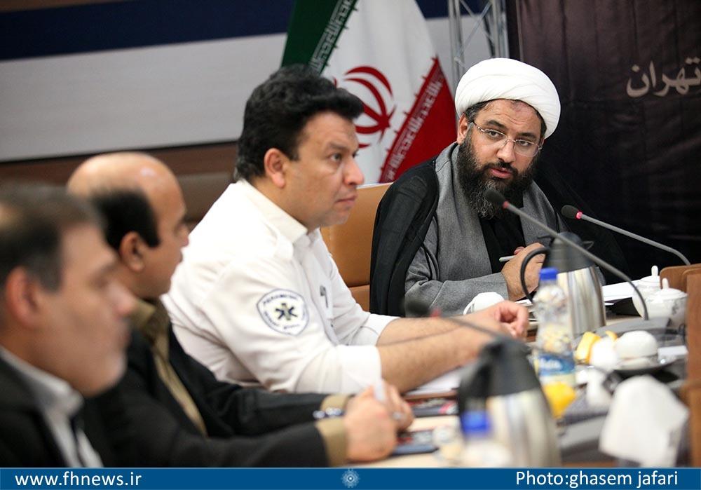 جلسه هماهنگی راهپیمایی اربعین حسینی در شهر تهران برگزار شد